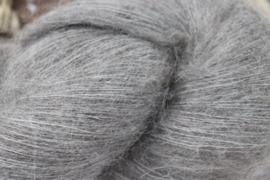 Baby Alpaca Fine Lace Fluffy Grijs