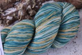 Fine Merino  multi color Strand