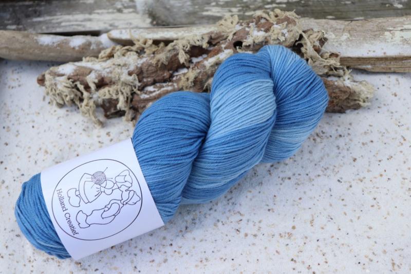 Fine Merino  Blauw tint
