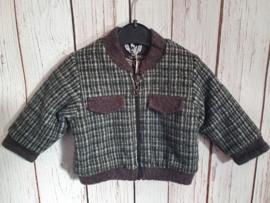 Nieuw : Gymp - grijze winter jas