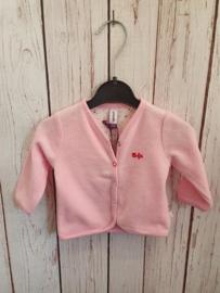 Nieuw : Babyface - roze zachte vest