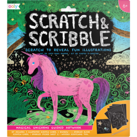 Nieuw : Ooly - Scratch & Scribble Ass.