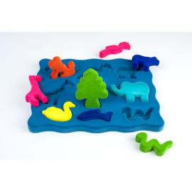 Rubbabu - 3D-Puzzel Dieren