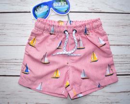 Nieuw : Lemon Beret zwemshort bootjes - American Beauty