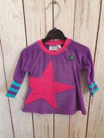 Nieuw : Fred's World - Velvet dress purple