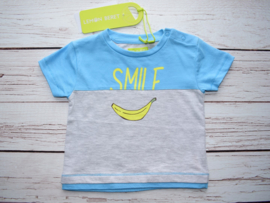 Nieuw : Lemon Beret T-shirt Smile alaska blue