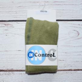 Nieuw : Broekkousen InControl - Olive green