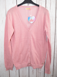 Nieuw : Someone - Old pink glitter cardigan Mt. 164