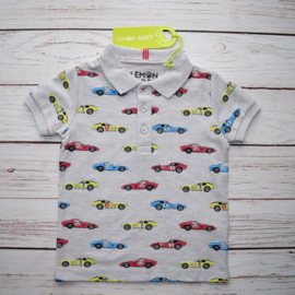 Nieuw : Lemon Beret Polo cars grey melange
