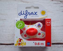 Nieuw : Difrax fopspeen combi 0-6 mnd. +