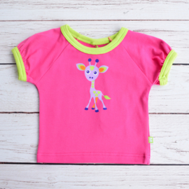 Nieuw : MALA - Roze T-shirt giraffe