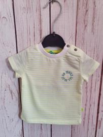 Nieuw : Babyface - Fluo geel gestreept T-shirt