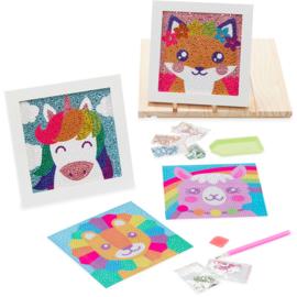 Ooly - Razzle Dazzle Gem Art Kit - Friendly Fox