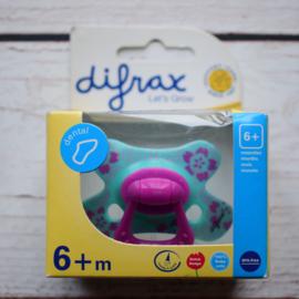 Nieuw : Difrax fopspeen Dental 6 mnd. +