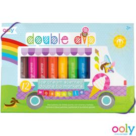 Nieuw : Ooly - Dubbelzijdige kleur en geur stiften 'Double-Dip'