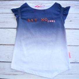 """Nieuw : NoNo - T-shirt """"Say No"""""""