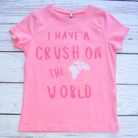 """Nieuw : Name it - T-shirt Flamingo roze """"Crush"""""""