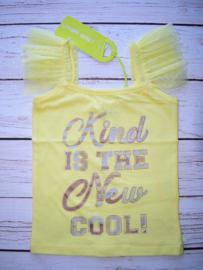 """Nieuw : Lemon Beret Gele top """"Cool"""""""