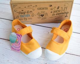 Nieuw : Cienta - gele sneakers