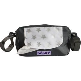 Nieuw : Dooky Travel Budy grijs zilver stars