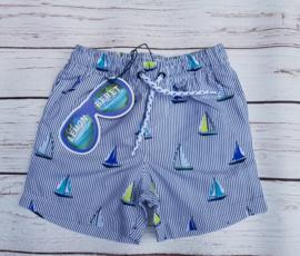 Nieuw : Lemon Beret zwemshort bootjes - Blue Nights
