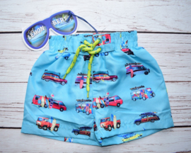 Nieuw : Lemon Beret zwemshort Scuba blue auto's