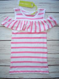 Nieuw : Lemon Beret gestreepte jurk pink