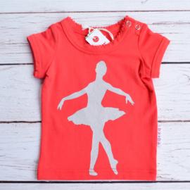 Nieuw : Ba*Ba - Rood T-shirt ballerina