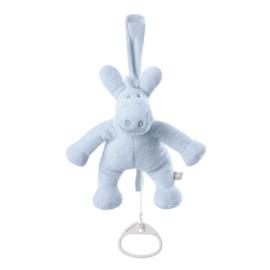 Nieuw : Noukie's Paco Mini Muzikale Knuffel licht blauw 15 cm