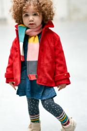 Nieuw : Babyface winterjas Rib - Teaberry