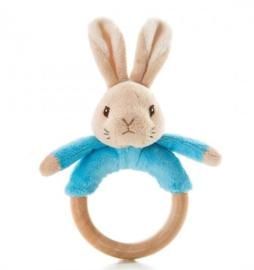 Nieuw  : Peter Rabbit Bunny bijtring / rammelaar