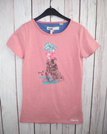 Nieuw : Moodstreet - T-shirt oud roze Chicken