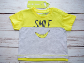 Nieuw : Lemon Beret T-shirt Smile geel