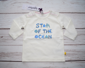 "Nieuw : Babyface - Longsleeve  ""Star of the sea"" Soft White"