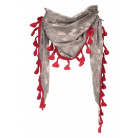 Nieuw : Sjaal NoNo Lanza grijs
