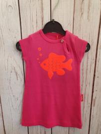 Nieuw : Tapete - Roze jurk fish