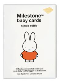 Nieuw : Milestone baby kaarten - Nijntje editie