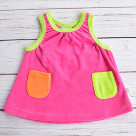 Nieuw : Mala - Roze jurk