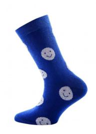 Nieuw : Smiley sok Ewers Blauw