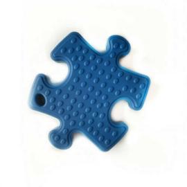 Nieuw : Bijtketting Puzzel Nibbling donker blauw