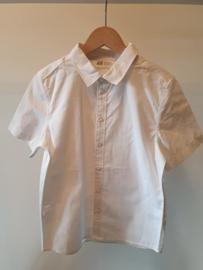 Nieuw : H&M - Wit hemd korte mouw Mt. 134
