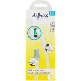 Nieuw : Difrax losse melk - en luchtslang