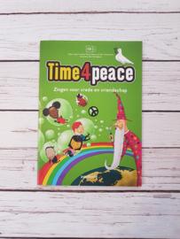 Nieuwstaat : Boek Time 4 Peace incl CD