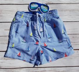 Nieuw : Lemon Beret zwemshort bootjes - Turkish Sea