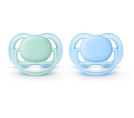 Nieuw : Fopspeen Avent ultra soft blauw