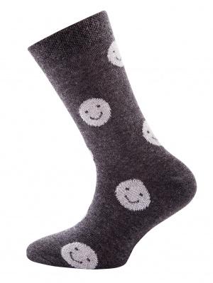 Nieuw : Smiley sok Ewers grijs