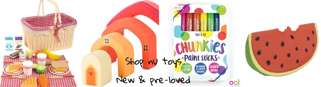 Pre-loved & new toys