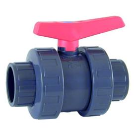PVC kogelkraan Ø16mm PN16
