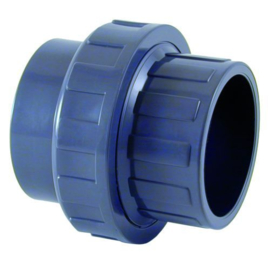 PVC 3/3 koppeling Ø16mm PN16