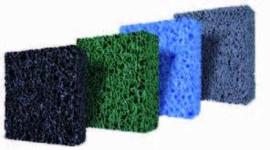 Matala mat PPC blauw-fijn 120 x 100 x 4cm